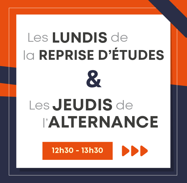 Informations collectives reprise études alternance